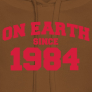 Light pink onearth1984 T-shirts - Vrouwen Premium hoodie