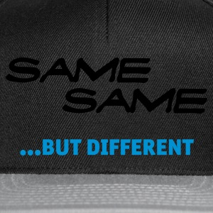 Same Same But Different (1c, NEU) - Snapback Cap