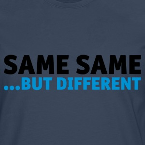 Same Same But Different 2 (1c, NEU) - Männer Premium Langarmshirt