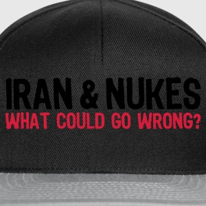 Iran & Nukes (2c, ENG) - Casquette snapback