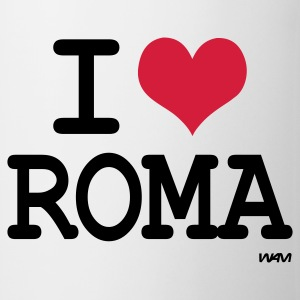 Vit i love roma by wam T-shirts - Mugg