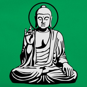 Kelly green Young Buddha No.1_2c T-Shirts - Retro Tasche