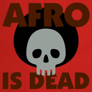 Gelb Afro is dead © T-Shirts - Fartuch kuchenny