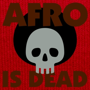 Gelb Afro is dead © T-Shirts - Cappellino invernale