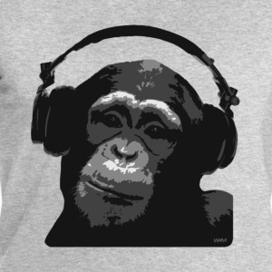 Cendre DJ MONKEY by wam T-shirts - Sweat-shirt Homme Stanley & Stella