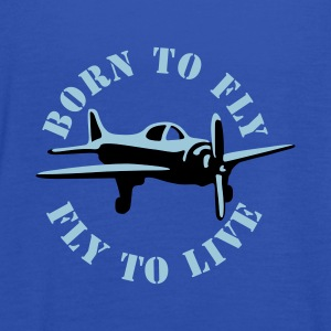 born_to_fly_2c T-shirts - Dame tanktop fra Bella