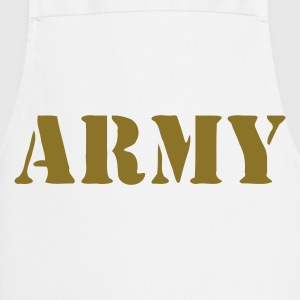 Beige sable army T-shirts - Tablier de cuisine