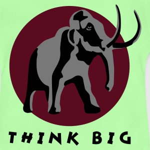 Kelly green mammut_3c_think_big Kinder T-Shirts - Baby T-Shirt