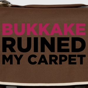 Edelbrun Bukkake Ruined my Carpet 2 (2c) T-skjorter - Skulderveske