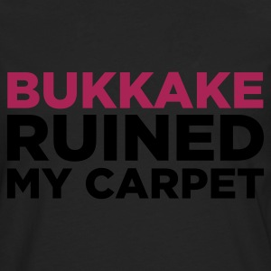 Edelbrun Bukkake Ruined my Carpet 2 (2c) T-skjorter - Premium langermet T-skjorte for menn