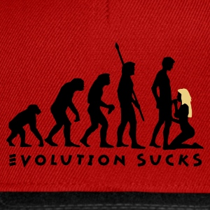 evolution_sucks_b_2c Camisetas - Gorra Snapback