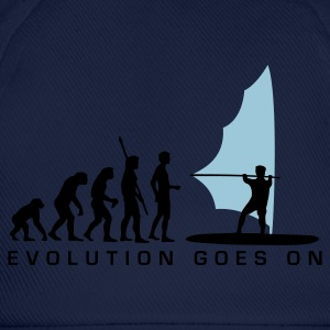 Sky evolution_windsurfer_b_2c Men's T-Shirts - Baseball Cap