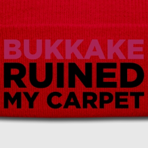 Rosado claro Bukkake Ruined my Carpet 2 (2c) Camisetas - Gorro de invierno