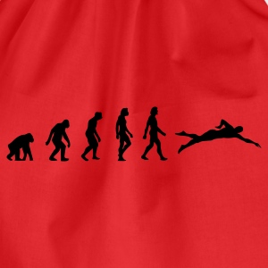 Rød Swimming Evolution 1 (1c) T-shirts - Sportstaske