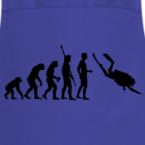 evolution_taucher_a T-Shirts - Cooking Apron