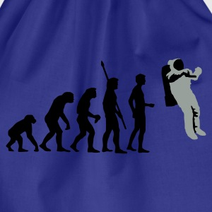 evolution_astronaut_2c T-shirts - Gymtas