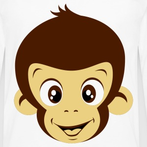 White Monkey Women's T-Shirts - Men's Premium Longsleeve Shirt