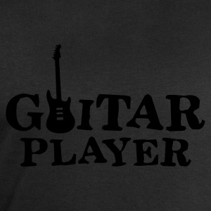 Black guitar_player_a_1c Women's T-Shirts - Men's Sweatshirt by Stanley & Stella