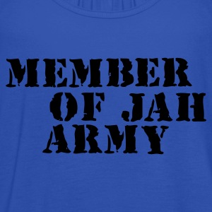 Sky Member Of Jah Army T-shirts - Vrouwen tank top van Bella