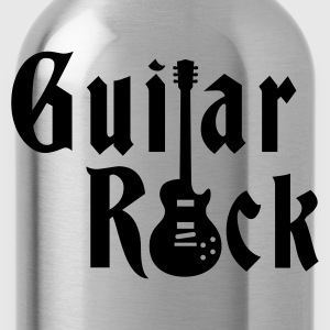 Black guitarrock_klein_1c Women's T-Shirts - Water Bottle