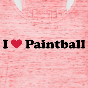 Gelb Paintball T-Shirts - Frauen Tank Top von Bella