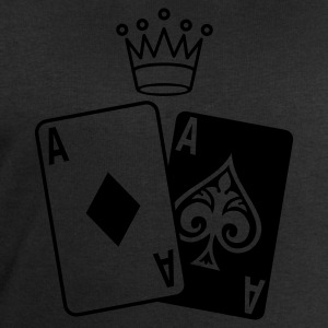Black Poker Cards Women's T-Shirts - Men's Sweatshirt by Stanley & Stella