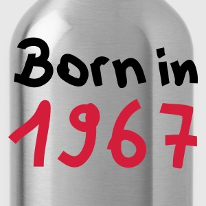 Olive Born in 1967 T-Shirts - Trinkflasche