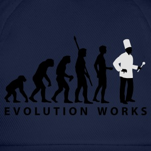 Royalblau evolution_koch_2c_b T-Shirts - Baseballkappe