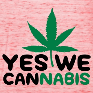 Gelb Yes we Cannabis 4 (2c) T-Shirts - Frauen Tank Top von Bella
