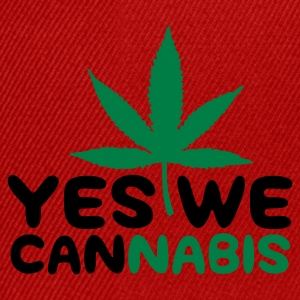 Gelb Yes we Cannabis 4 (2c) T-Shirts - Snapback Cap