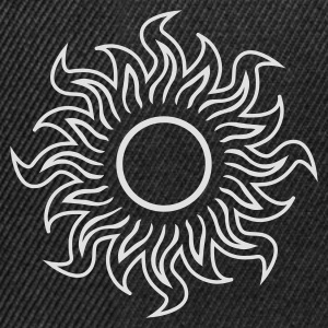Sort black hole sun (dark) - sort sol T-shirts - Snapback Cap