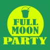 Vert tendre full moon party T-shirts - T-shirt Premium Homme