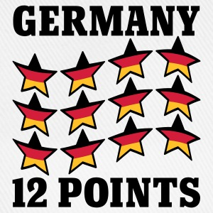 Weiß Germany 12 Points © T-Shirts - Casquette classique