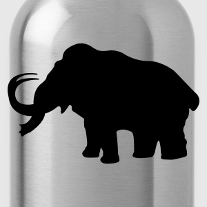 Prehistoric Ice Age mammoth elephant T-Shirts - Water Bottle