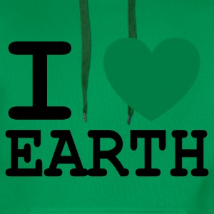 I *heart* Earth - Men's Premium Hoodie