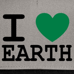 I *heart* Earth - Snapback Cap