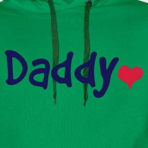 Daddy with Heart - Men's Premium Hoodie