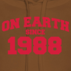Light pink onearth1988 T-shirts - Vrouwen Premium hoodie