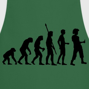 evolution_punk Camisetas - Delantal de cocina