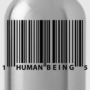 barcode_human_being T-Shirts - Water Bottle