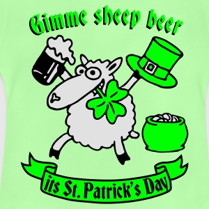 st_patricks_sheep Tee shirts - T-shirt Bébé