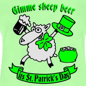 st_patricks_sheep Shirts - Baby T-shirt