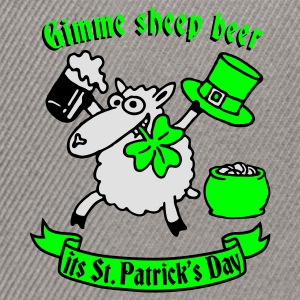 st_patricks_sheep Tee shirts - Casquette snapback