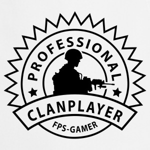 Askegrå prof_clanplayer_1_no T-skjorter - Kokkeforkle