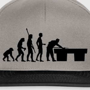 evolution_billard T-Shirts - Snapback Cap
