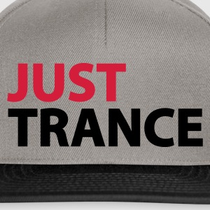 Moosgrün Just Trance T-Shirts - Snapback Cap