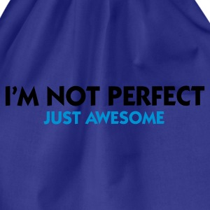 Turquoise I'm not perfect - Just Awesome (2c) T-shirts - Sac de sport léger