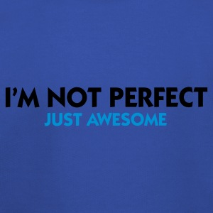 Turquoise I'm not perfect - Just Awesome (2c) T-shirts - Pull à capuche Premium Enfant