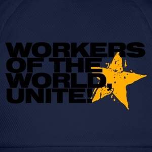 Workers of the world, unite! (sky) - Baseball Cap
