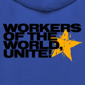 Workers of the world, unite! (sky) - Kids' Premium Hoodie